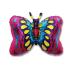 papillon rose 40 cm non gonflé air sur tige