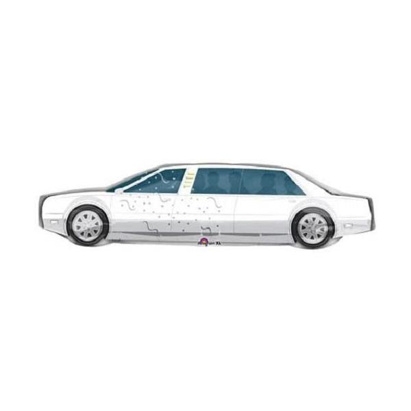 Limousine ballon mylar 28*107 cm vendu non gonflé