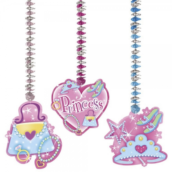 3 suspensions princesses 76.2 cm