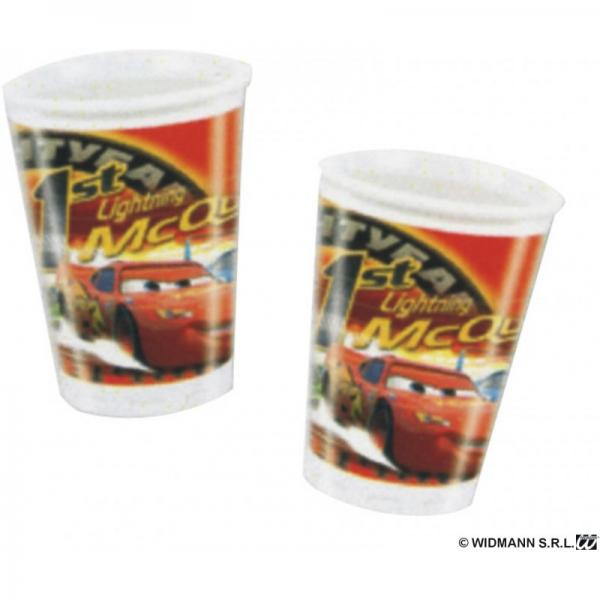 8 Car's gobelets plastique 20 cl