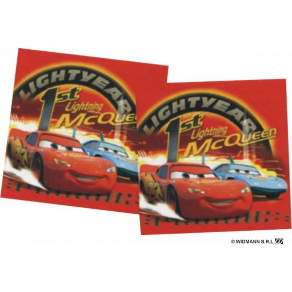 16 Car's serviettes papier 33 cm*33 cm