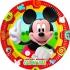10 Mickey assiettes 23cm