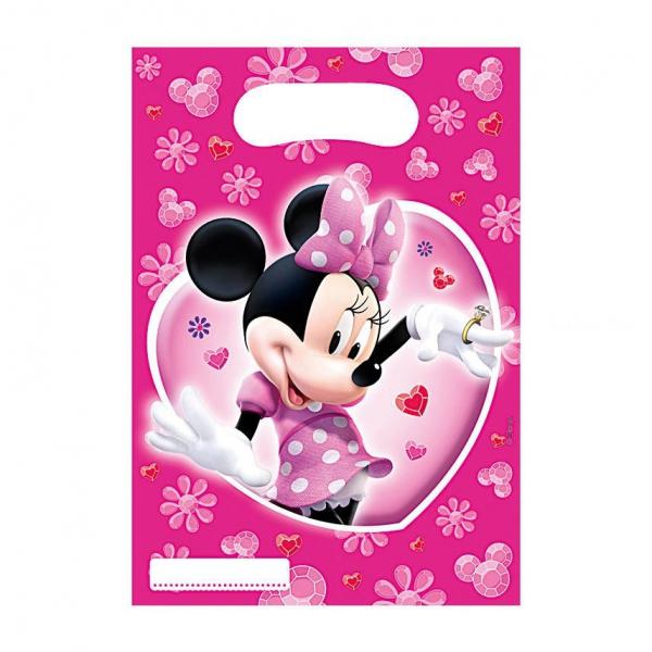 6 sachets friandises Minnie Mouse