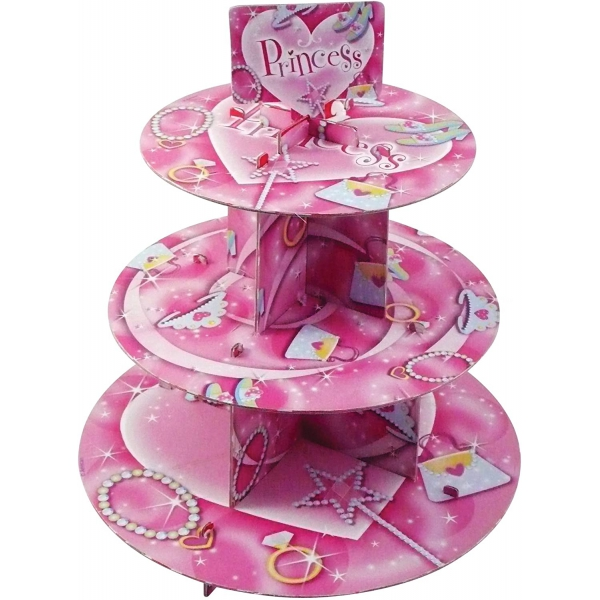 Cupcake stand princess 30*35 cm995273 Princesses