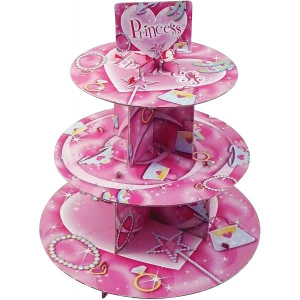 Cupcake stand princess 30*35 cm995273 Princesses