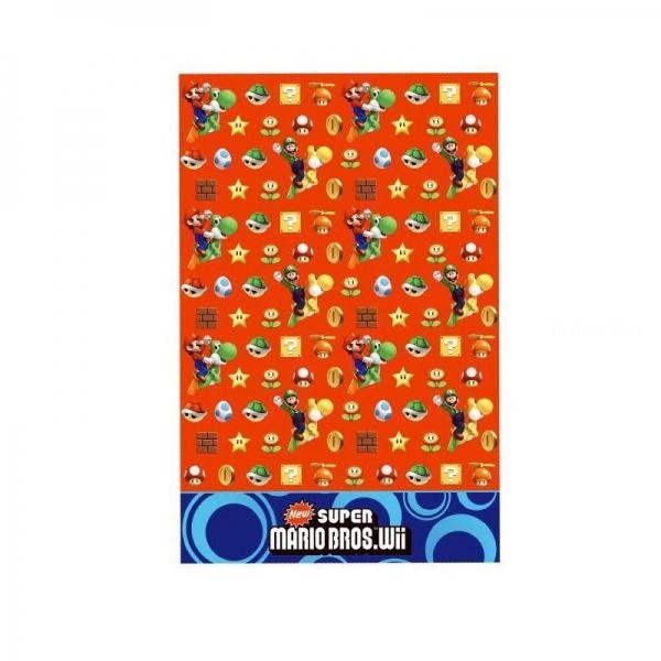 Nappe goûter Mario Bros 138*183 cm189247 Mario Super Mario