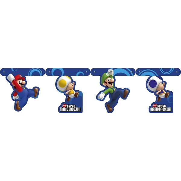Guirlande Mario Bros 200cm189278 Mario Super Mario