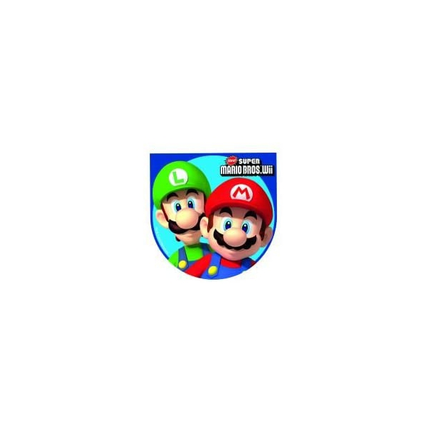 4 notebooks Mario Bros 9*9cm189346 Mario Super Mario