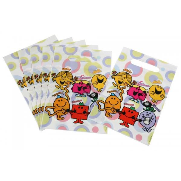 6 sacs à bonbons Monsieur Madame