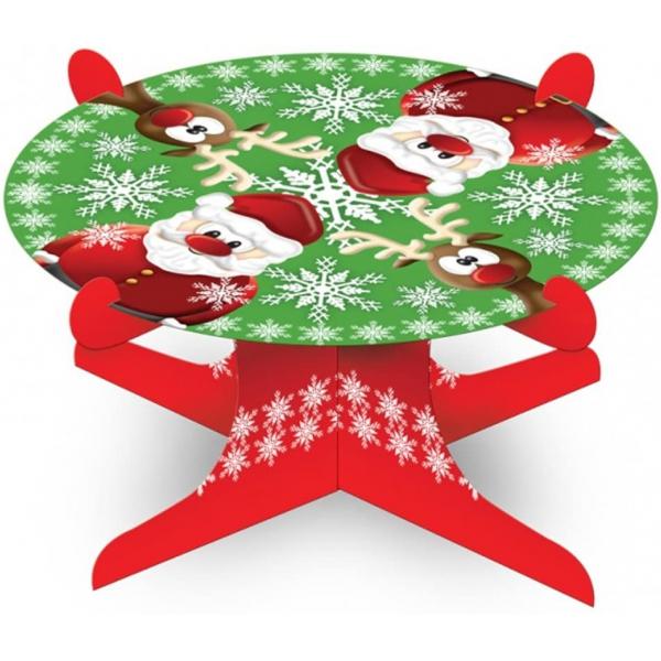 Noel Cupcake stand 1 niveaux diamètre 25 cm
