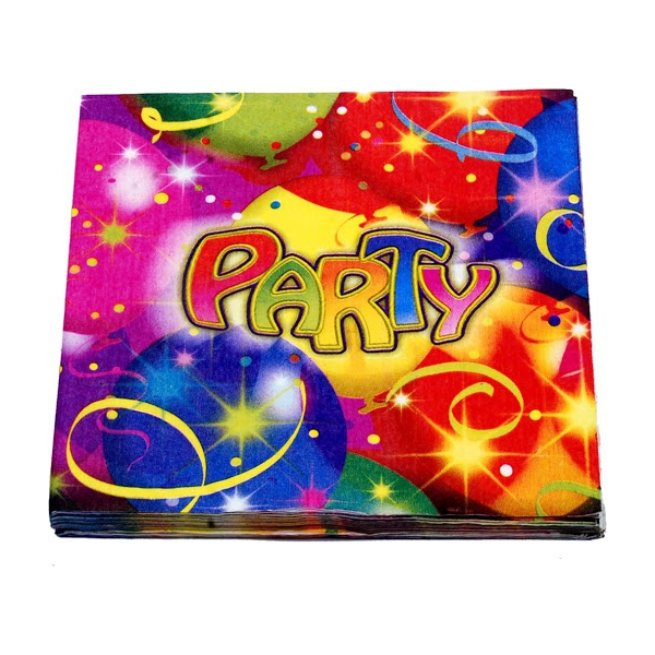 20 serviettes Party 33cm