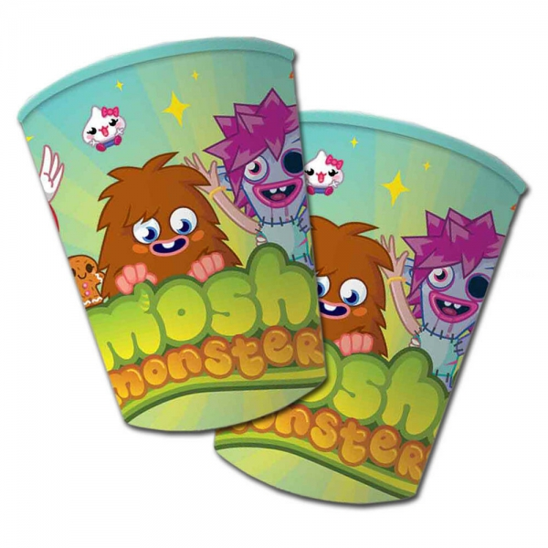 8 gobelets Moshi Monsters 25cl195453 Moshi Monsters