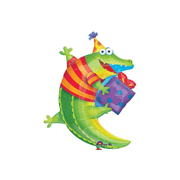 Alligator ballon mylar