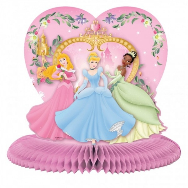Centre table disney princesse 26cm