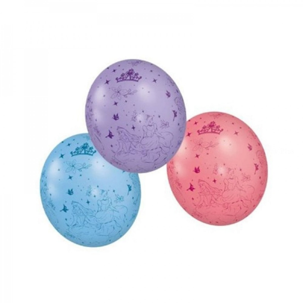 5 ballons Princesses disney