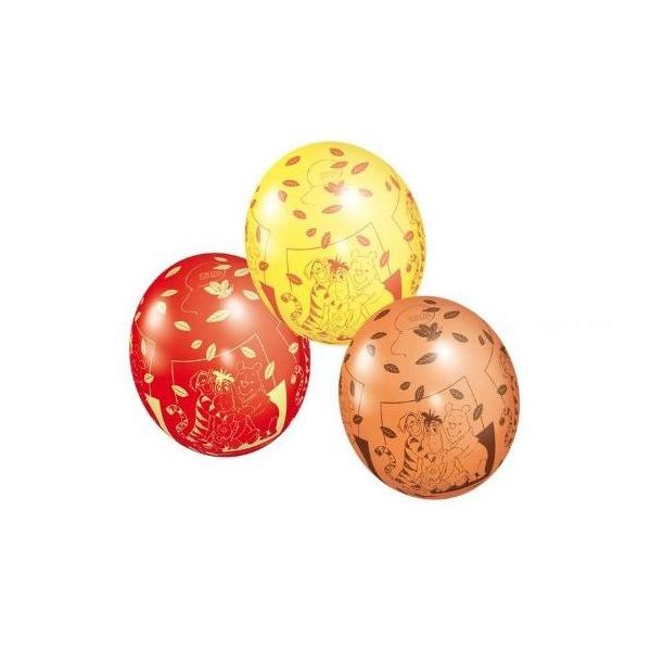 5 ballons Winnie l'ourson et ses amis