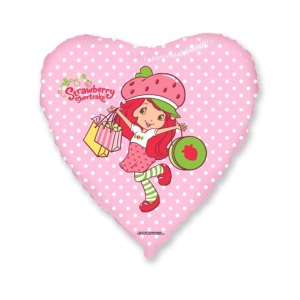 charlotte aux fraises coeur shopping 45 cm non gonflé