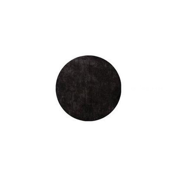 50 dessous assiettes noir 34 cm intissé