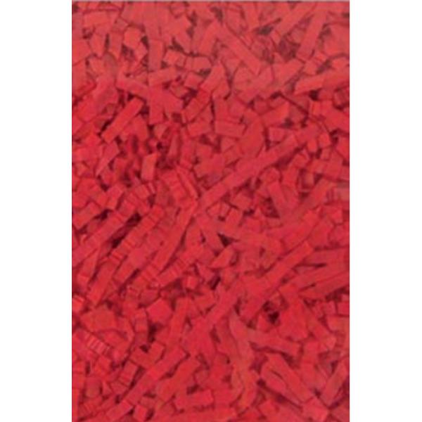 brins de papier rouge paquet de 42 grammes pour ballons cadeaux,