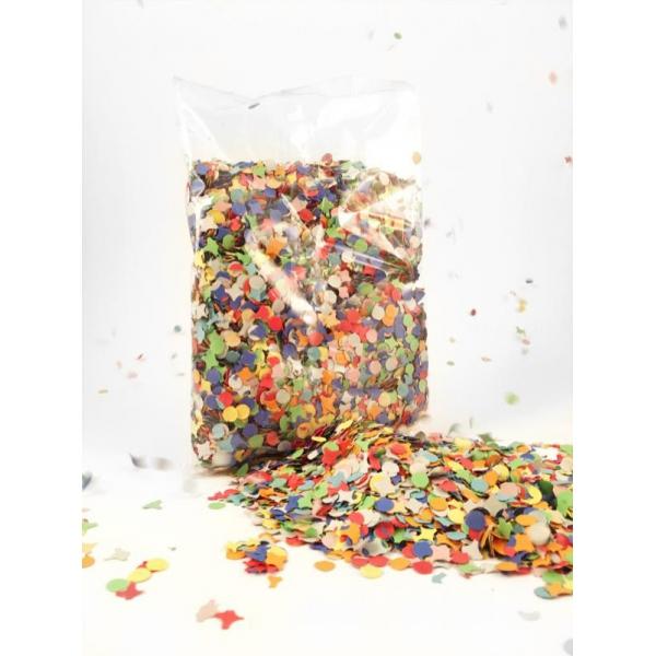 confettis multicouleurs 100 grammes