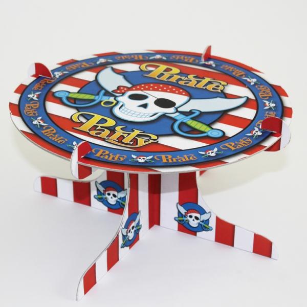 pirate Cupcake stand 1 niveaux diamètre 25 cm