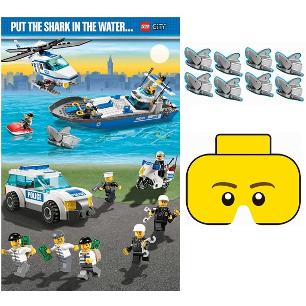 1 jeu Lego City