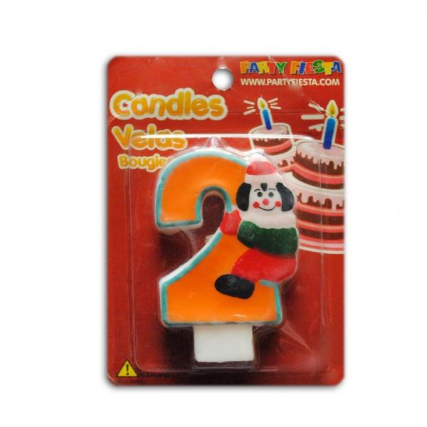 bougie anniversaire clown 2