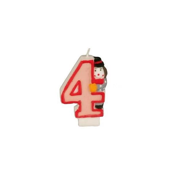 bougie anniversaire clown 4