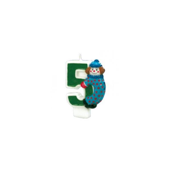bougie anniversaire clown 5