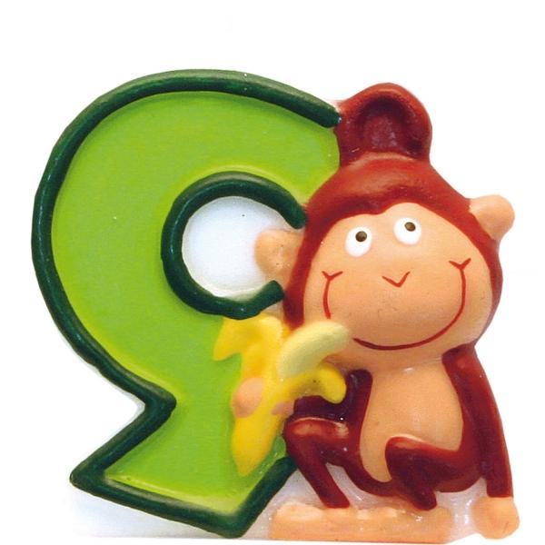 bougie anniversaire jungle 9