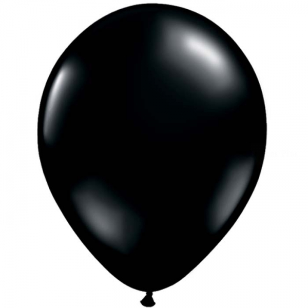 25 ballons qualatex 28 cm opaque noir