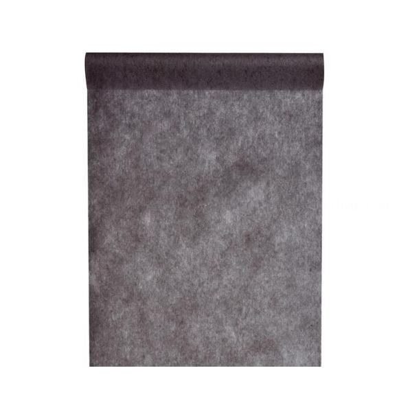 chemin de table noir 30cm*10m