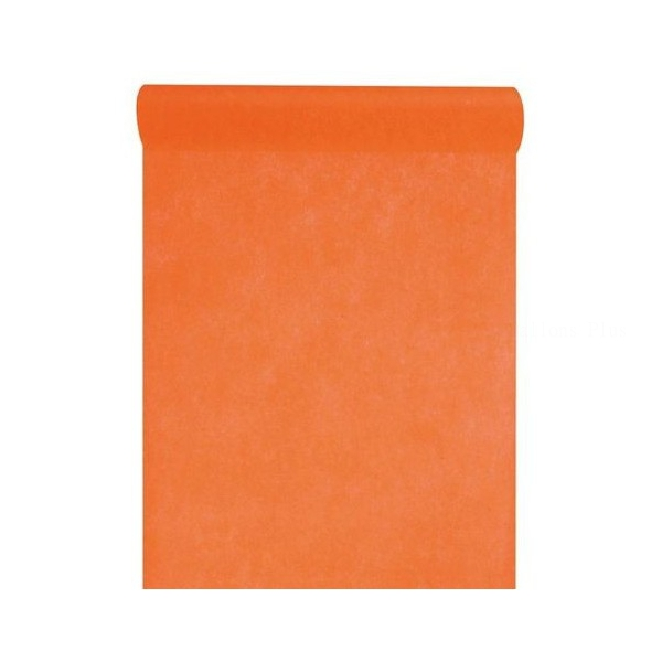 Chemin de table orange 30cm*10m