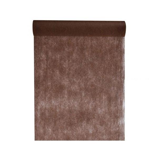 chemin de table chocolat 30cm*10m