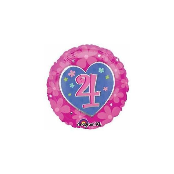 4em anniversaire rose