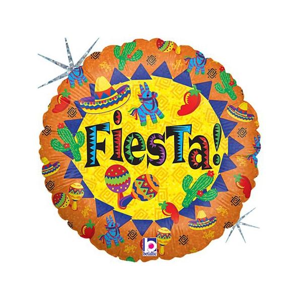 rond fiesta 45 cm à plat non gonflé