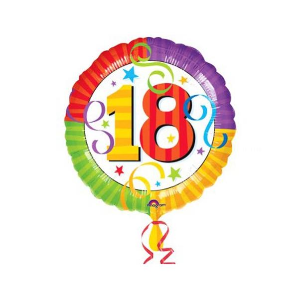 18 ballon radiant mylar 45 cm