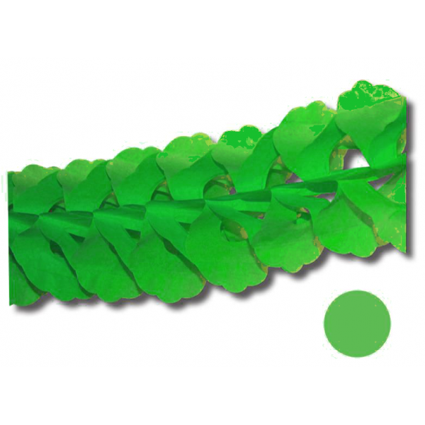 1 guirlande zinia vert printemps 3.6m