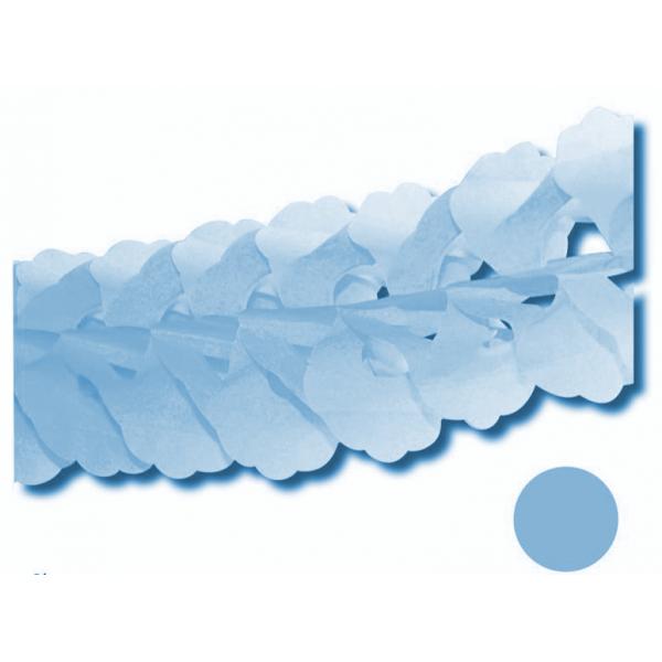 Guirlande zinia bleu ciel 3.6m