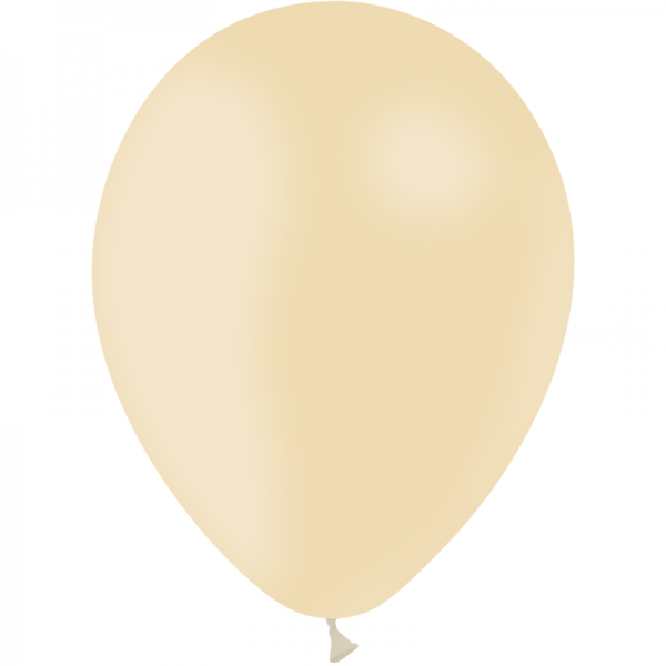 100 ballons ivoire opaque 30 cm