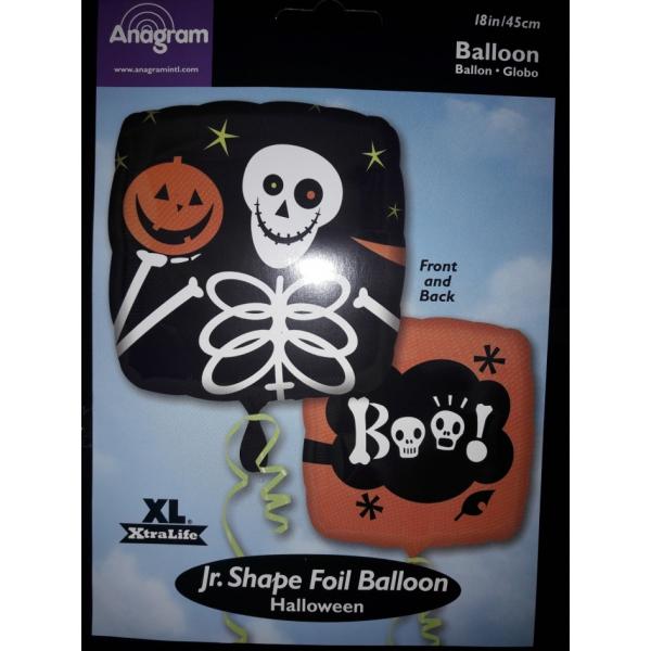 Squelette ballonmylar 45 cm