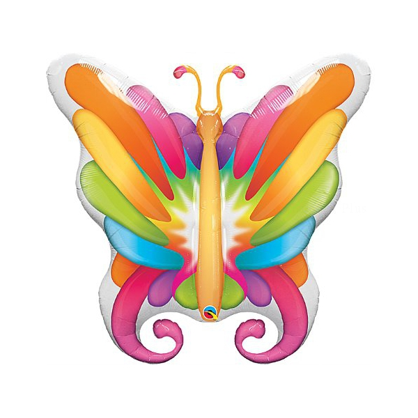 Papillons ballon mylar 102 cm