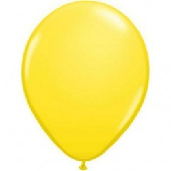 10 qualatex 40 cm couleurs standard jaune43906 jaune40p10 QUALATEX 40 Cm Opaque Standard 40 Cm Ø Qualatex