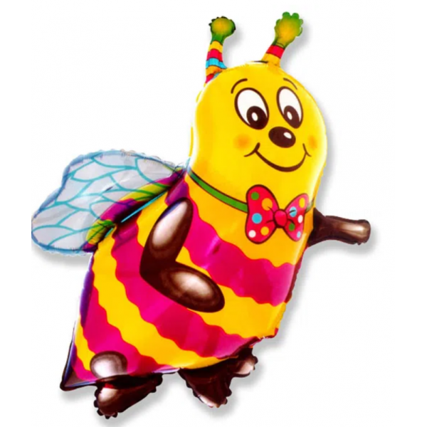abeille smile ballon mylar 97*79 cmabeille smile Papillons mylar