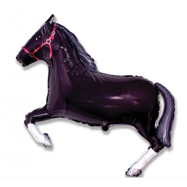 cheval noir mylar 70 cm