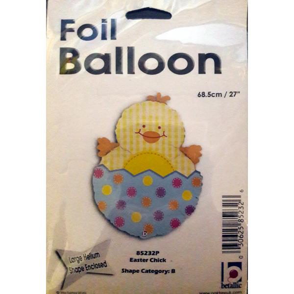Oeuf de Paques ballon mylar 68.5 cm