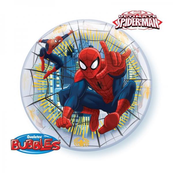 bubble imprimé Spiderman 56 cm