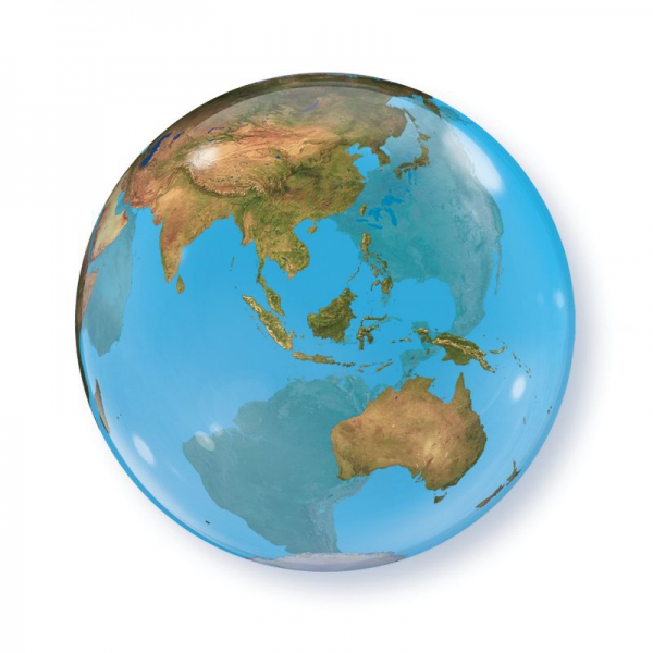 bubble la terre 56 cm