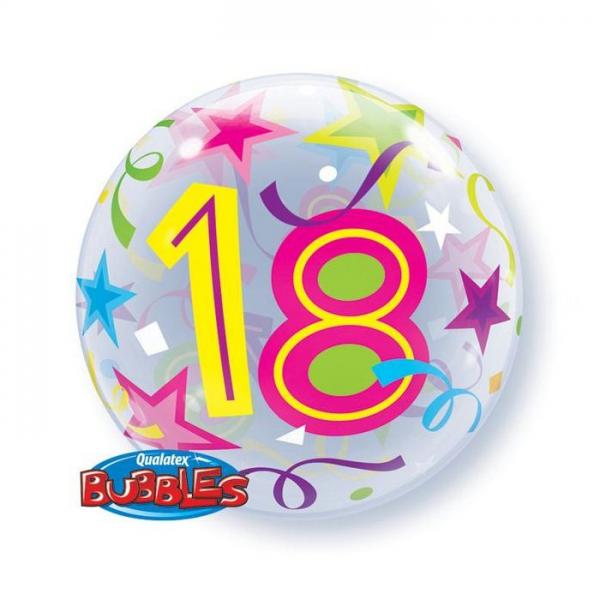 bubble 18em anniversaire 56cm