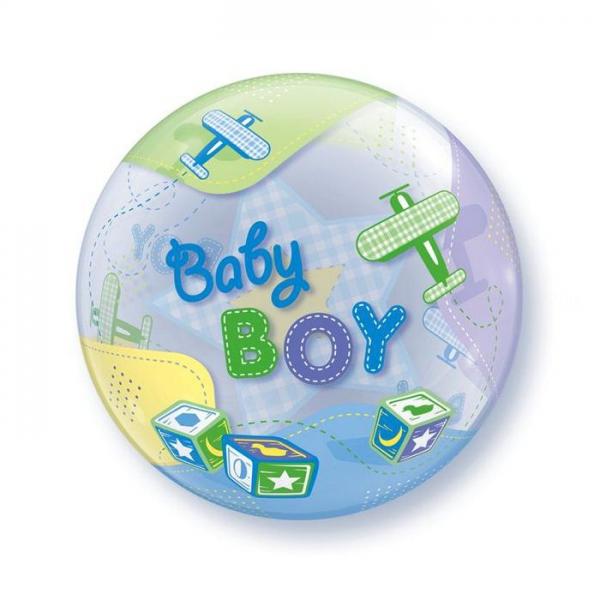bubble baby boy 56 cm de diamètre